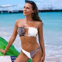 Купальник женский леопардовый 7701