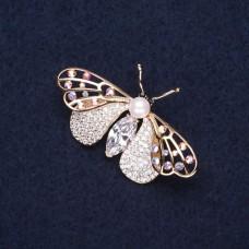 Брошь Бабочка 2968