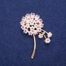 Брошь Цветок Гортензия 8352