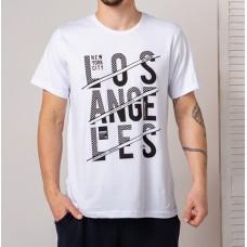 Мужская футболка белая 4744