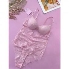 Боди женское розовое 9190