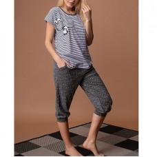 Пижама женская Панда 5254