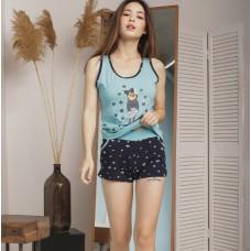 Женская пижама Кошка 5274