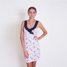 Сорочка женская кружевная бретелька 6363