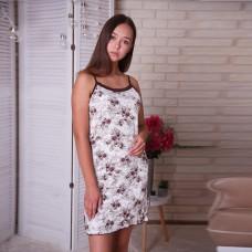 Сорочка женская на тонких бретельках 6367