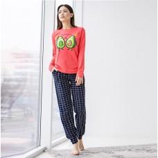 Пижама женская Авокадо 6598