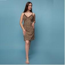 Сорочка женская леопардовая 6605