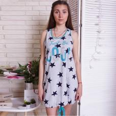 Сорочка женская звездная 6624