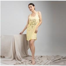 Туника женская желтая 6631