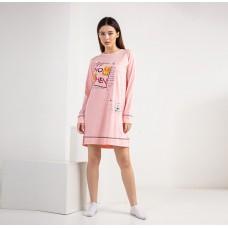Туника женская персиковая 6758