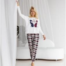 Пижама женская с штанами 6999