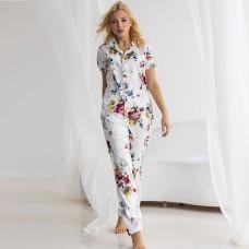 Пижама женская с рубашкой 7007