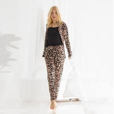 Пижама женская с рубашкой 7015