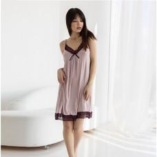 Сорочка женский пудра 7039