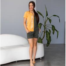 Пижама женская с шортами 7390