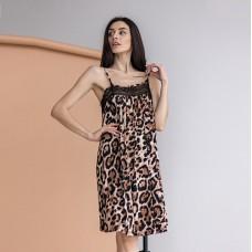 Сорочка женская Леопардовая 7482