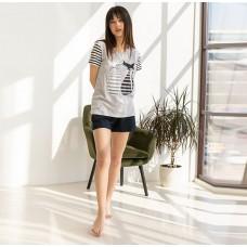 Пижама женская шорты Кошки 7569