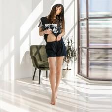 Пижама женская шорты Кошки 7570