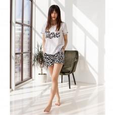Пижама женская шорты Love 7575