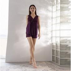 Женская пижама шортами и майка 7619