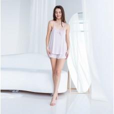 Женская пижама шортами и майка 7621