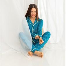 Пижама женская с штанами 7414