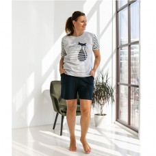 Пижама женская с шортами 8744