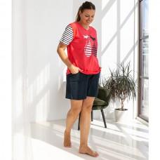 Пижама женская с шортами 8746