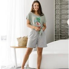 Пижама женская с шортами 8747