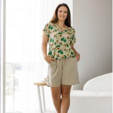 Пижама женская с шортами 8748