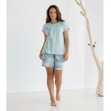 Пижама женская с шортами 8750