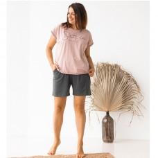 Пижама женская с шортами 8752