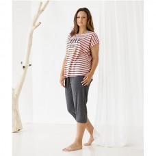 Женская пижама с капри 8768