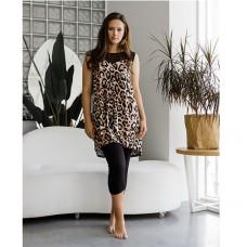 Женская пижама с лосинами 8769