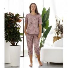 Женская пижама с капри 8770