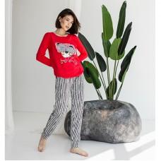 Пижама женская с штанами 8909