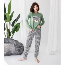 Пижама женская с штанами 8910