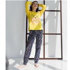 Пижама женская с штанами 8911