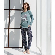 Пижама женская с штанами 8912