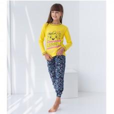 Пижама для девочки с штанами Панда 8928