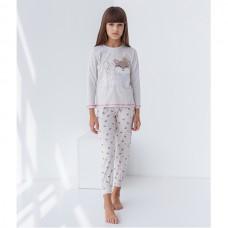 Пижама для девочки с штанами Мышка 8930