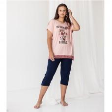 Женская пижама с капри 8937