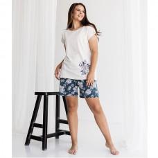 Пижама женская с шортами 8938
