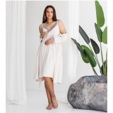 Сорочка женская c халатом 8980