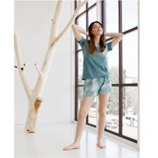 Пижама женская с шортами 8847