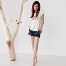 Пижама женская с шортами 8848