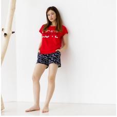 Пижама женская с шортами 8849