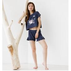 Пижама женская с шортами 8850