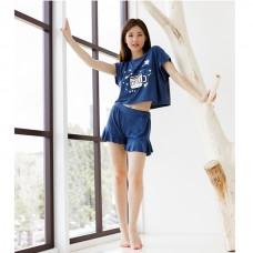 Пижама женская с шортами 8851