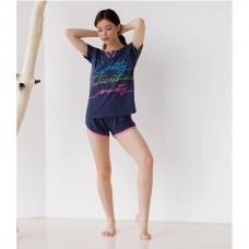 Пижама женская с шортами 8855